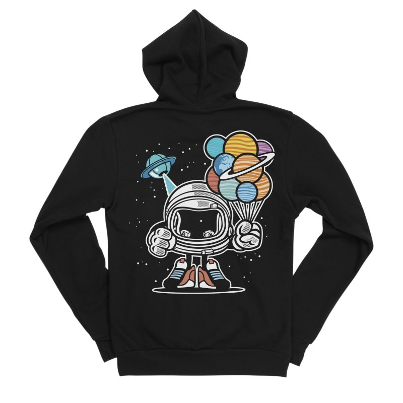 Out Of This World Gift Women's Zip-Up Hoody by WackyToonz