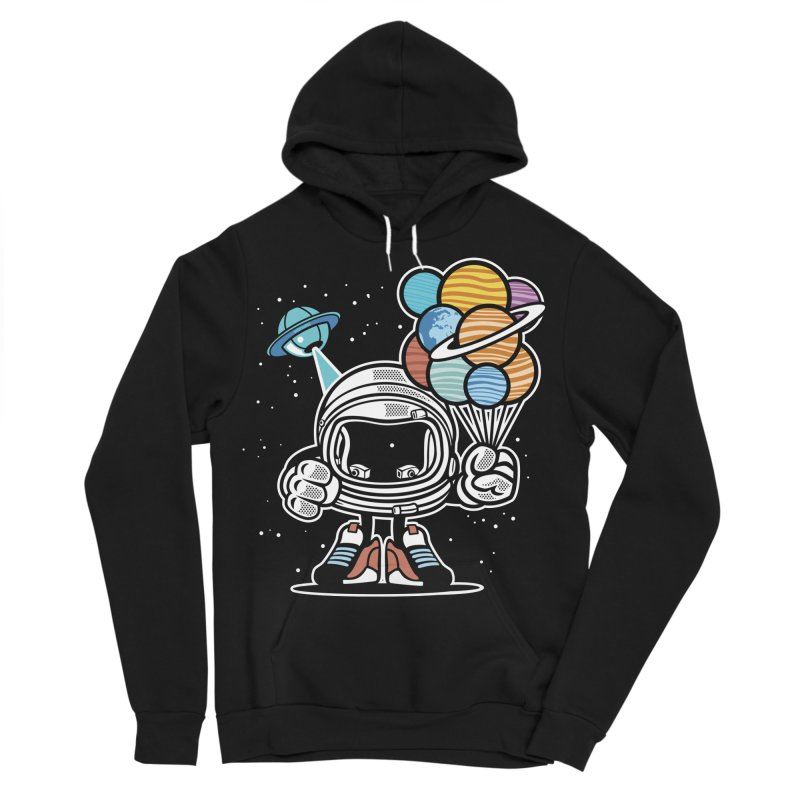 Out Of This World Gift Men's Sponge Fleece Pullover Hoody by WackyToonz
