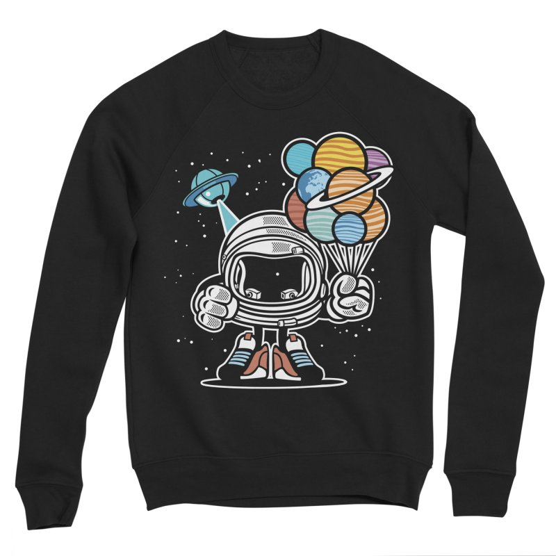 Out Of This World Gift Men's Sponge Fleece Sweatshirt by WackyToonz