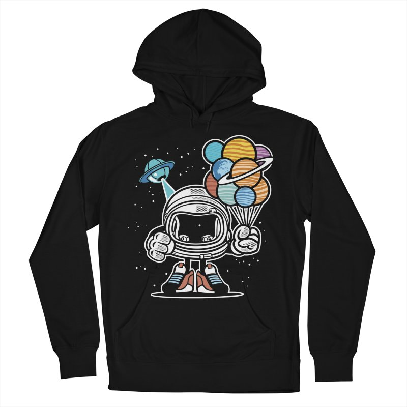 Out Of This World Gift Men's French Terry Pullover Hoody by WackyToonz