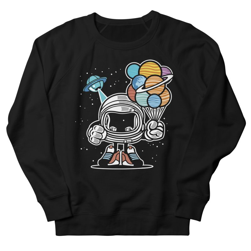 Out Of This World Gift Men's French Terry Sweatshirt by WackyToonz