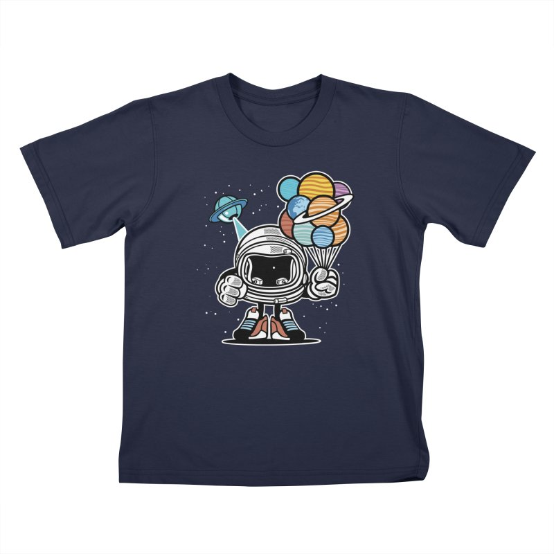 Out Of This World Gift Kids T-Shirt by WackyToonz