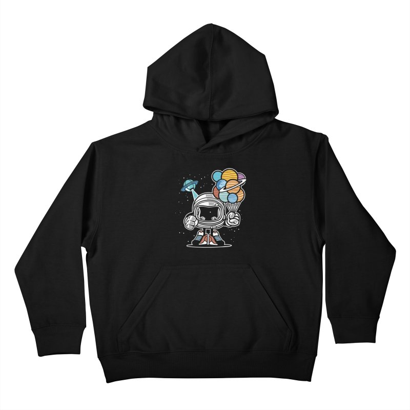 Out Of This World Gift Kids Pullover Hoody by WackyToonz