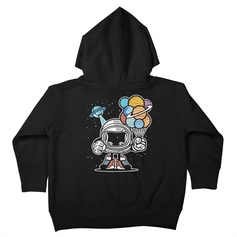 Out Of This World Gift Kids Toddler Zip-Up Hoody by WackyToonz