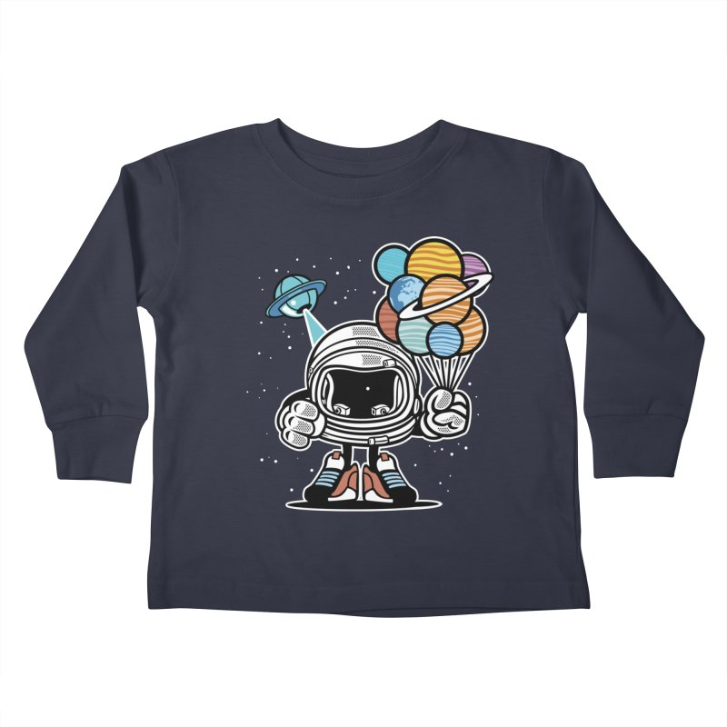 Out Of This World Gift Kids Toddler Longsleeve T-Shirt by WackyToonz