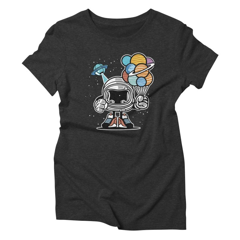 Out Of This World Gift Women's Triblend T-Shirt by WackyToonz