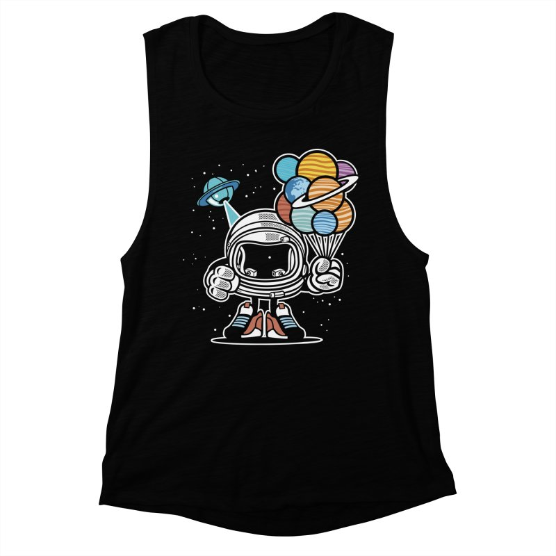 Out Of This World Gift Women's Muscle Tank by WackyToonz