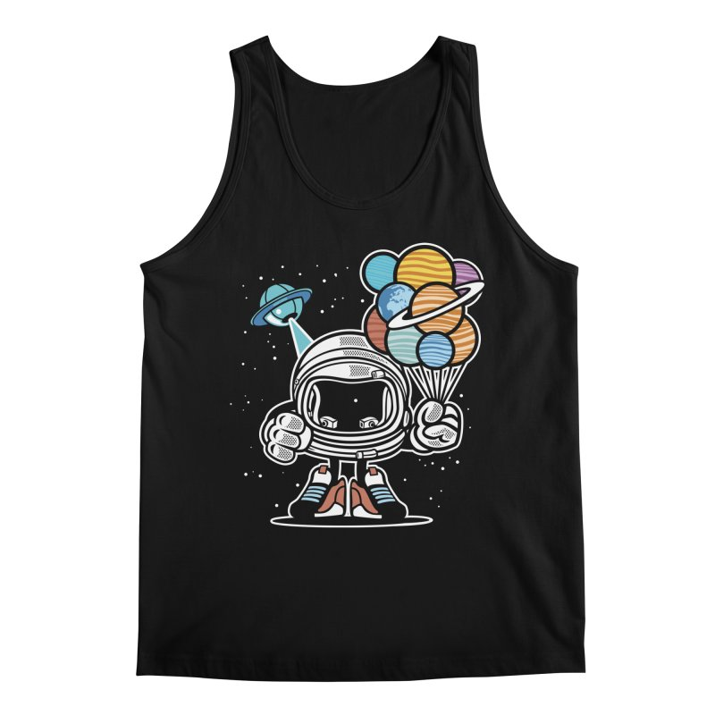 Out Of This World Gift Men's Regular Tank by WackyToonz