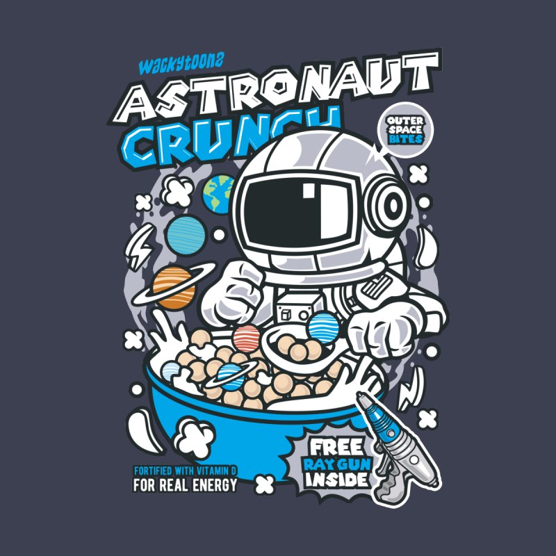Astronaut Crunch Cereal Women's Longsleeve T-Shirt by WackyToonz