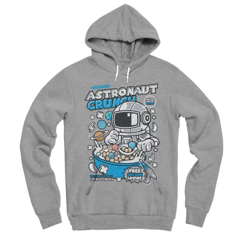 Astronaut Crunch Cereal Men's Pullover Hoody by WackyToonz