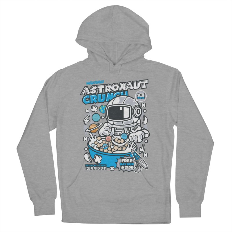 Astronaut Crunch Cereal Women's French Terry Pullover Hoody by WackyToonz