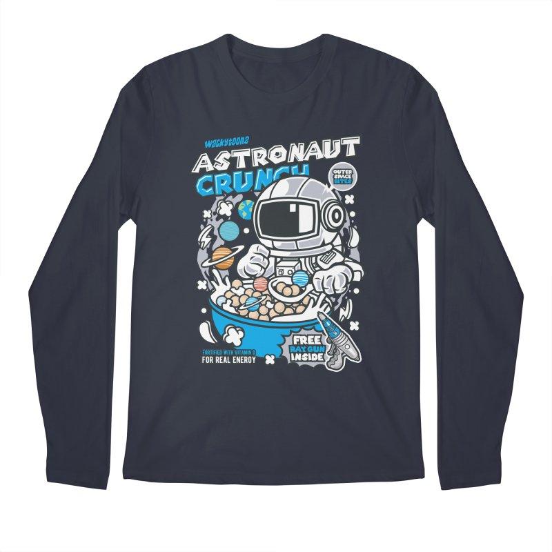 Astronaut Crunch Cereal Men's Regular Longsleeve T-Shirt by WackyToonz