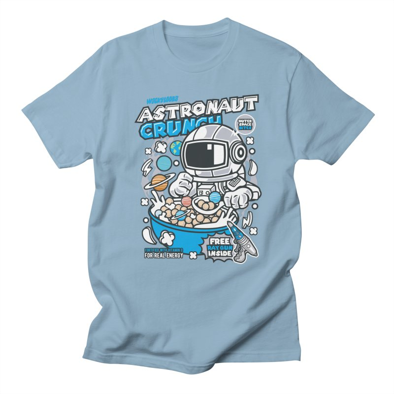 Astronaut Crunch Cereal Men's Regular T-Shirt by WackyToonz