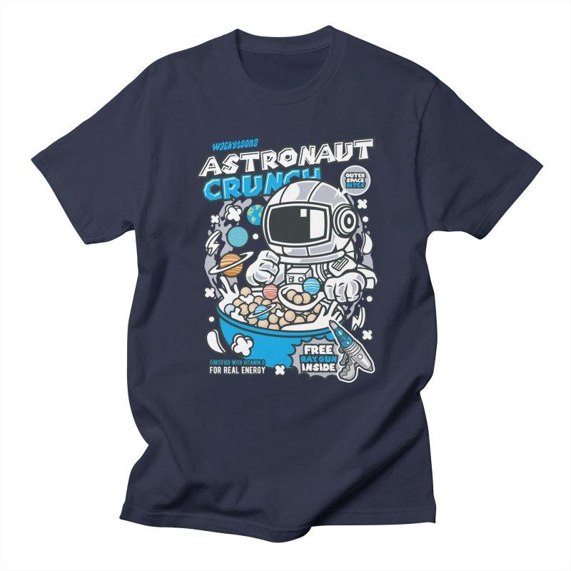 Astronaut Crunch Cereal Men's Regular T-Shirt by WackyToonz