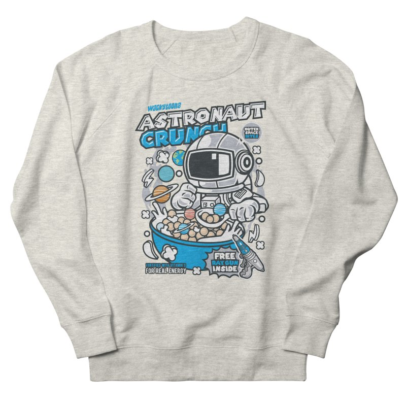 Astronaut Crunch Cereal Women's French Terry Sweatshirt by WackyToonz