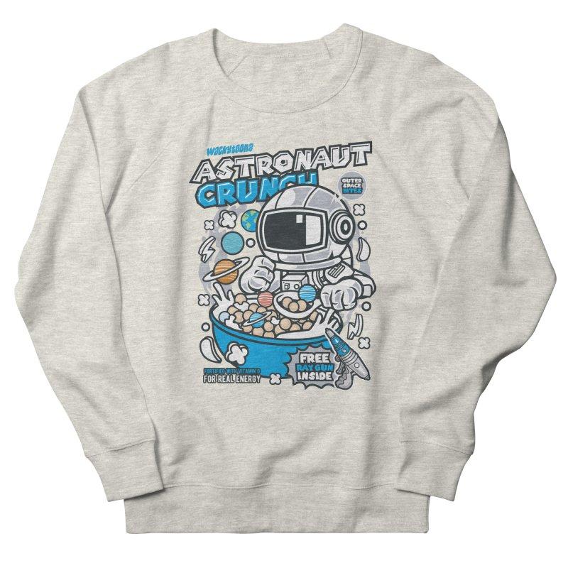 Astronaut Crunch Cereal Men's French Terry Sweatshirt by WackyToonz