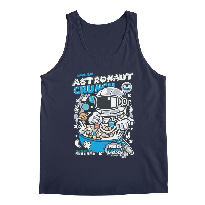 Astronaut Crunch Cereal Men's Tank by WackyToonz