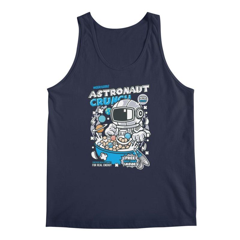 Astronaut Crunch Cereal Men's Regular Tank by WackyToonz
