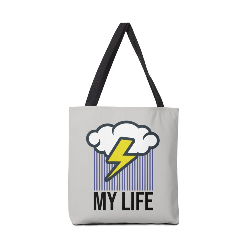 My Life Accessories Tote Bag Bag by WackyToonz