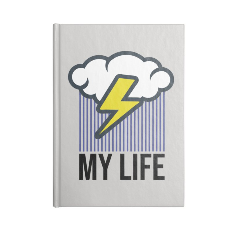 My Life Accessories Blank Journal Notebook by WackyToonz
