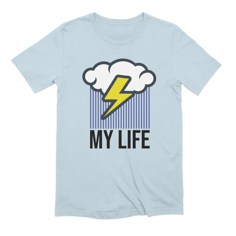 My Life Men's Extra Soft T-Shirt by WackyToonz