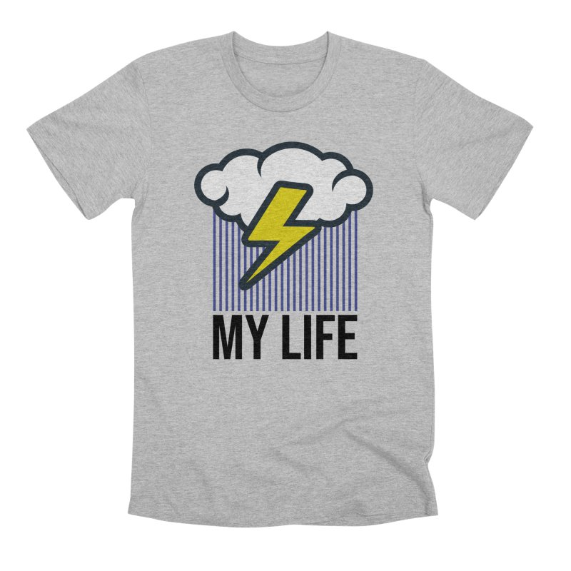My Life Men's Premium T-Shirt by WackyToonz