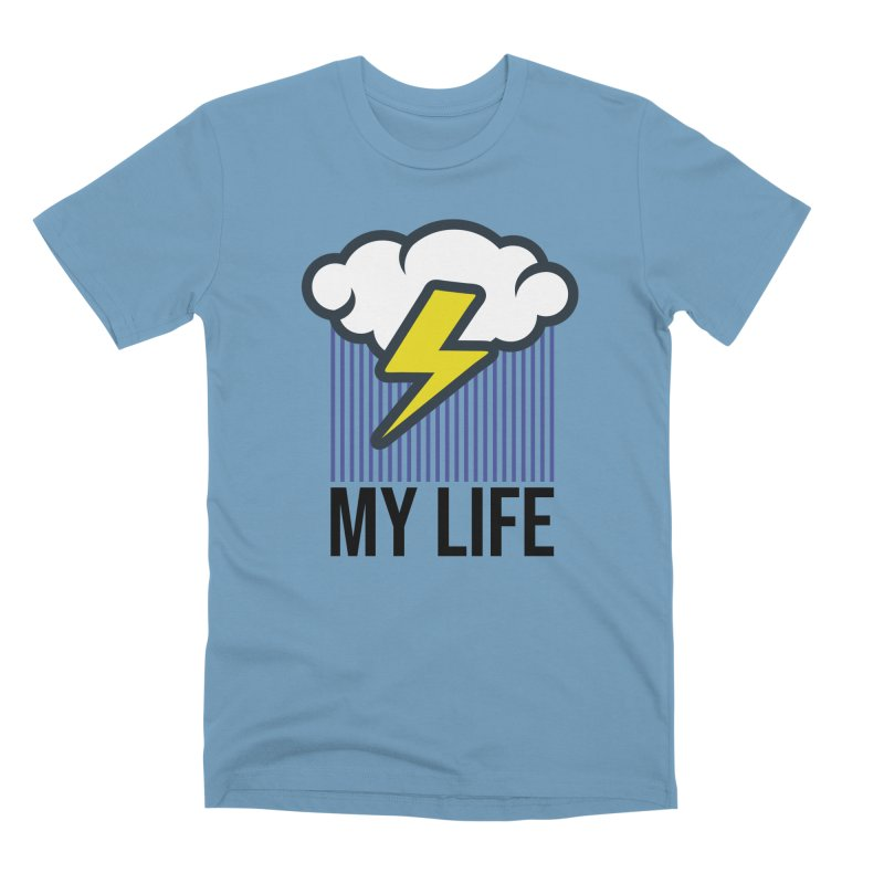 My Life Men's Premium T-Shirt by WackyToonz