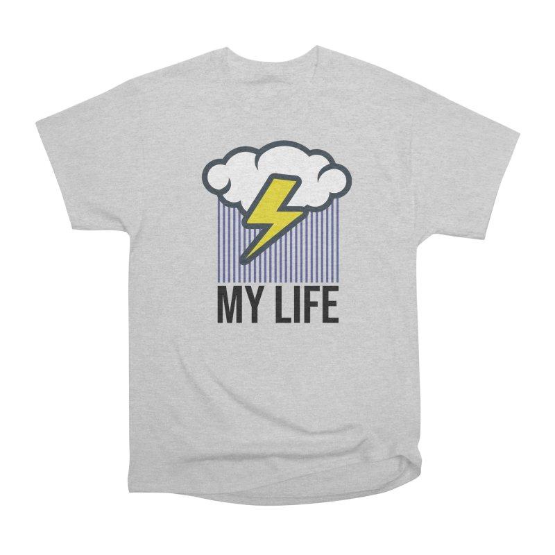 My Life Men's Heavyweight T-Shirt by WackyToonz