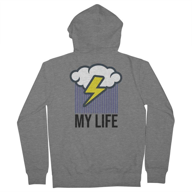 My Life Men's Zip-Up Hoody by WackyToonz