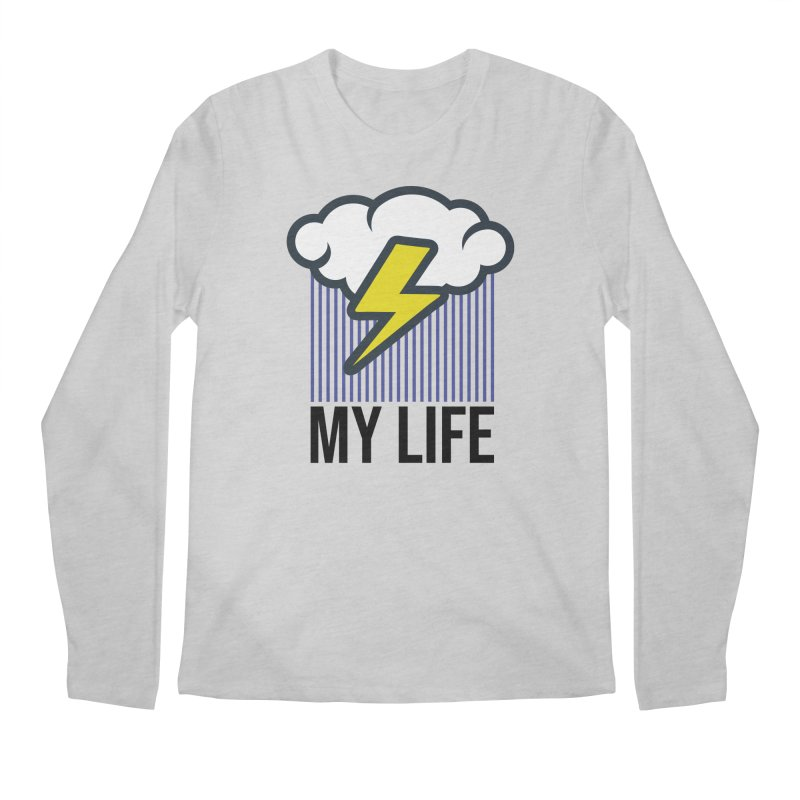 My Life Men's Regular Longsleeve T-Shirt by WackyToonz