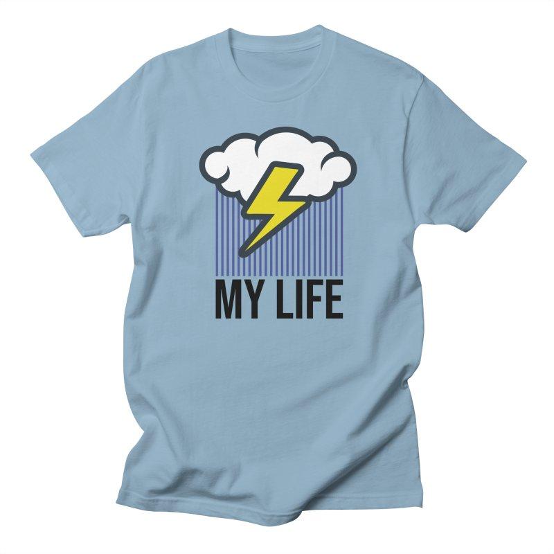 My Life Men's Regular T-Shirt by WackyToonz