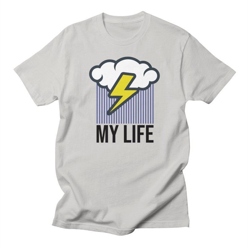 My Life Men's Regular T-Shirt by WackyToonz