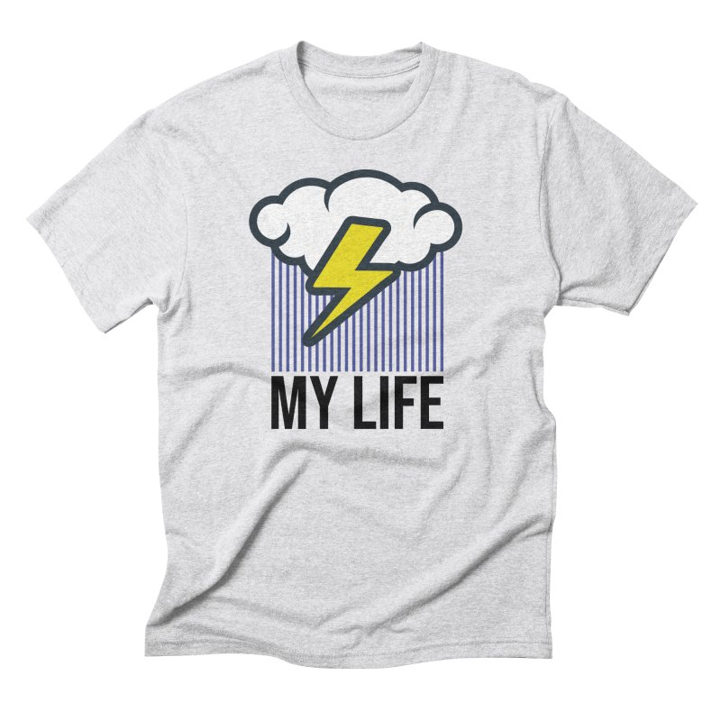 My Life Men's T-Shirt by WackyToonz