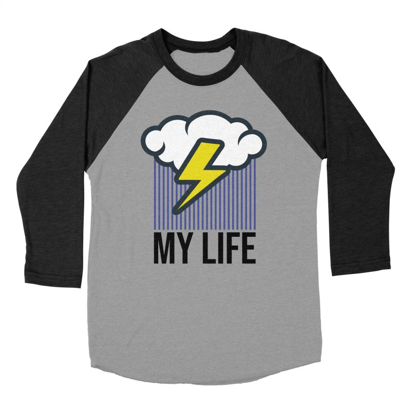 My Life Women's Baseball Triblend Longsleeve T-Shirt by WackyToonz