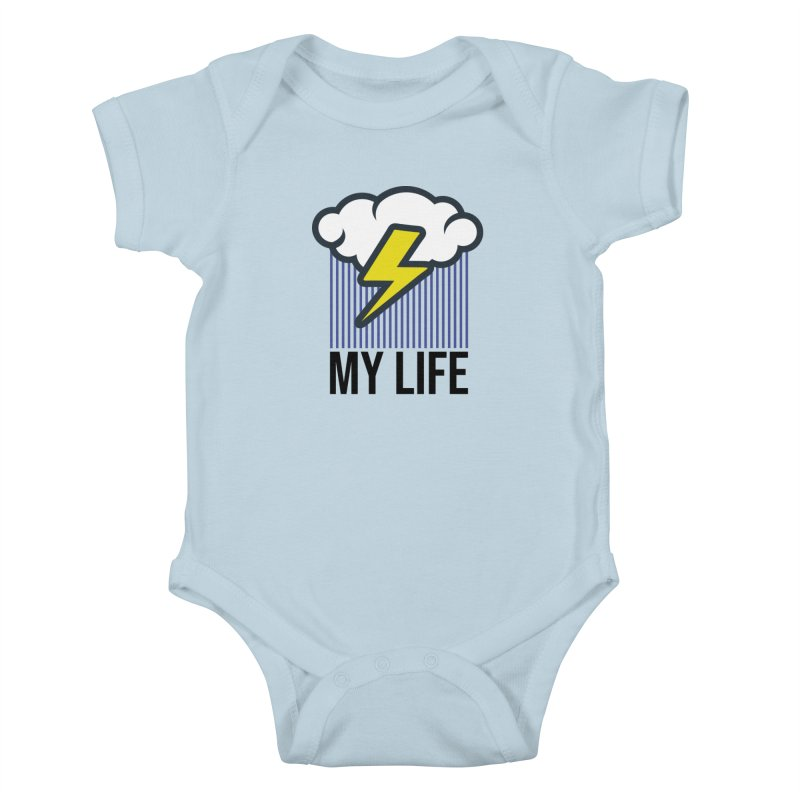 My Life Kids Baby Bodysuit by WackyToonz