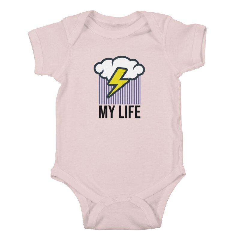 My Life Kids Baby Bodysuit by WackyToonz