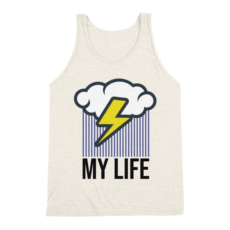 My Life Men's Triblend Tank by WackyToonz