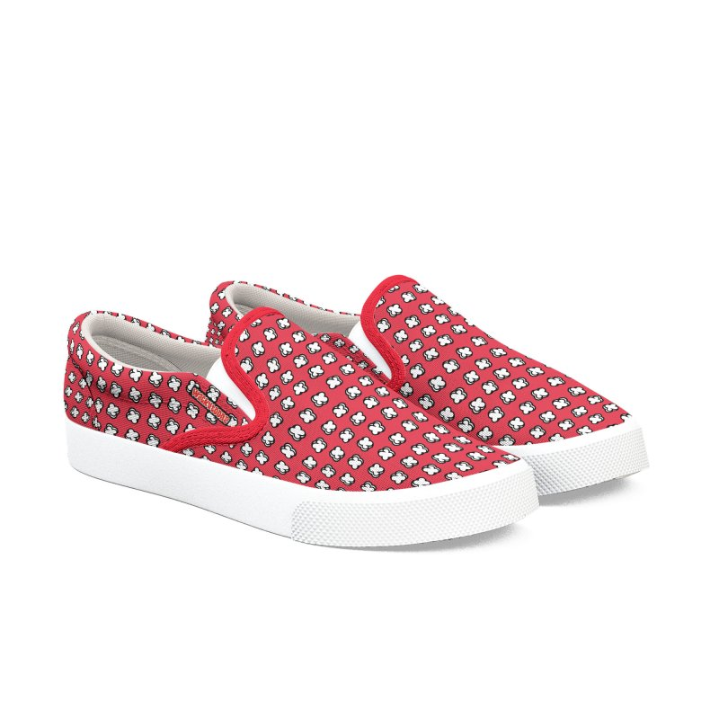 Xtreme Pattern Red Men's Shoes by WackyToonz