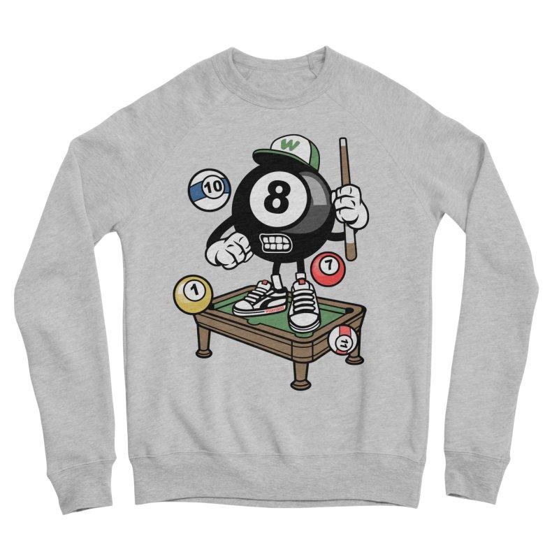 Pool Hall Hustle Men's Sponge Fleece Sweatshirt by WackyToonz
