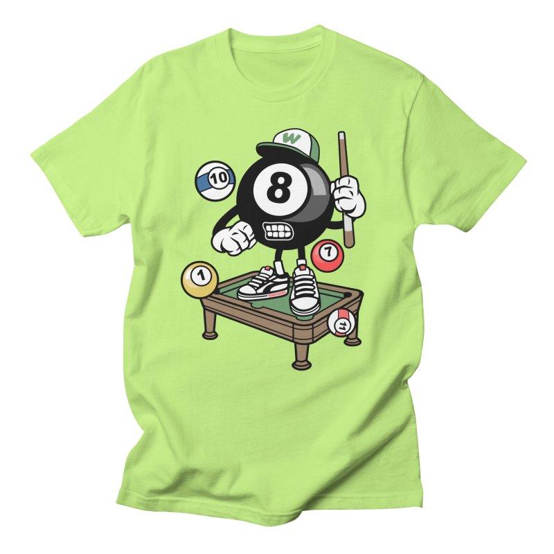 Pool Hall Hustle Women's Regular Unisex T-Shirt by WackyToonz