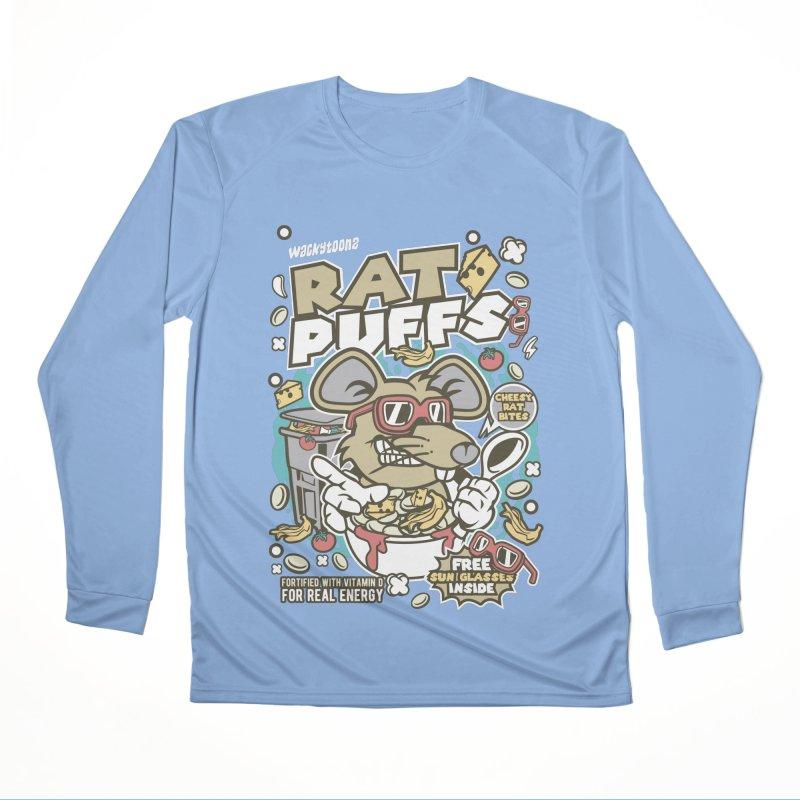 Rat Puffs Cereal Men's Performance Longsleeve T-Shirt by WackyToonz