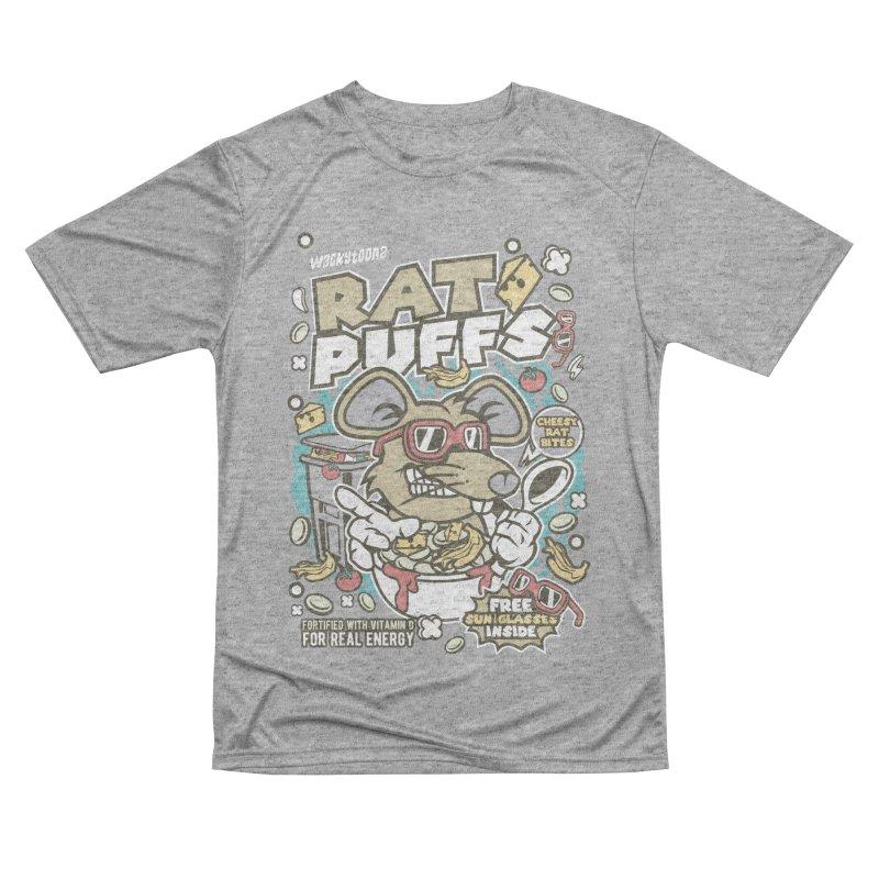 Rat Puffs Cereal Women's Performance Unisex T-Shirt by WackyToonz
