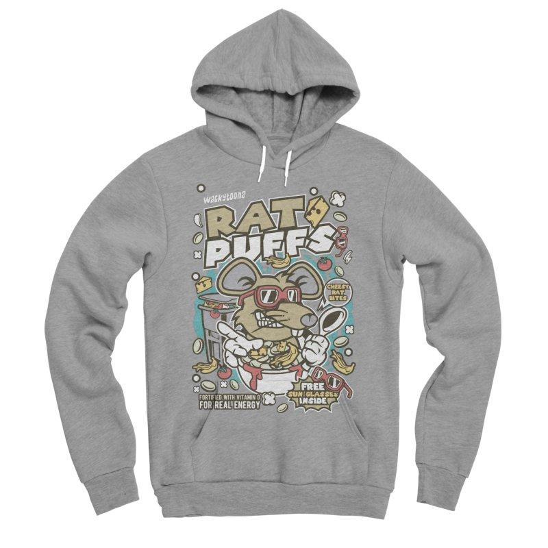 Rat Puffs Cereal Women's Sponge Fleece Pullover Hoody by WackyToonz