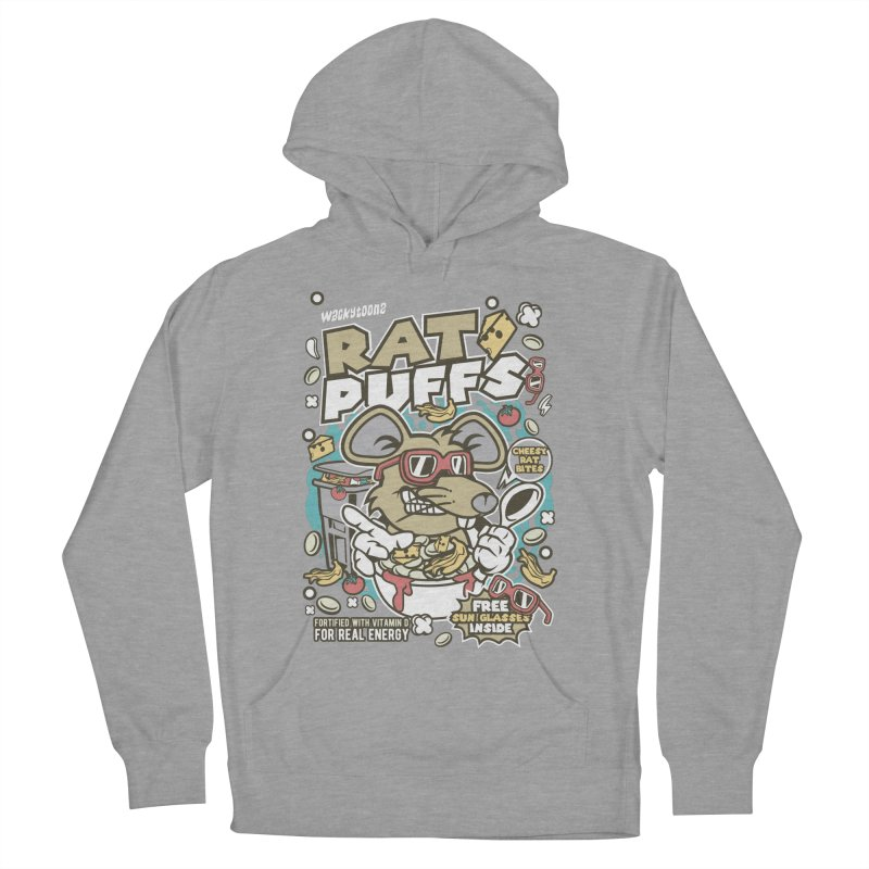 Rat Puffs Cereal Women's French Terry Pullover Hoody by WackyToonz