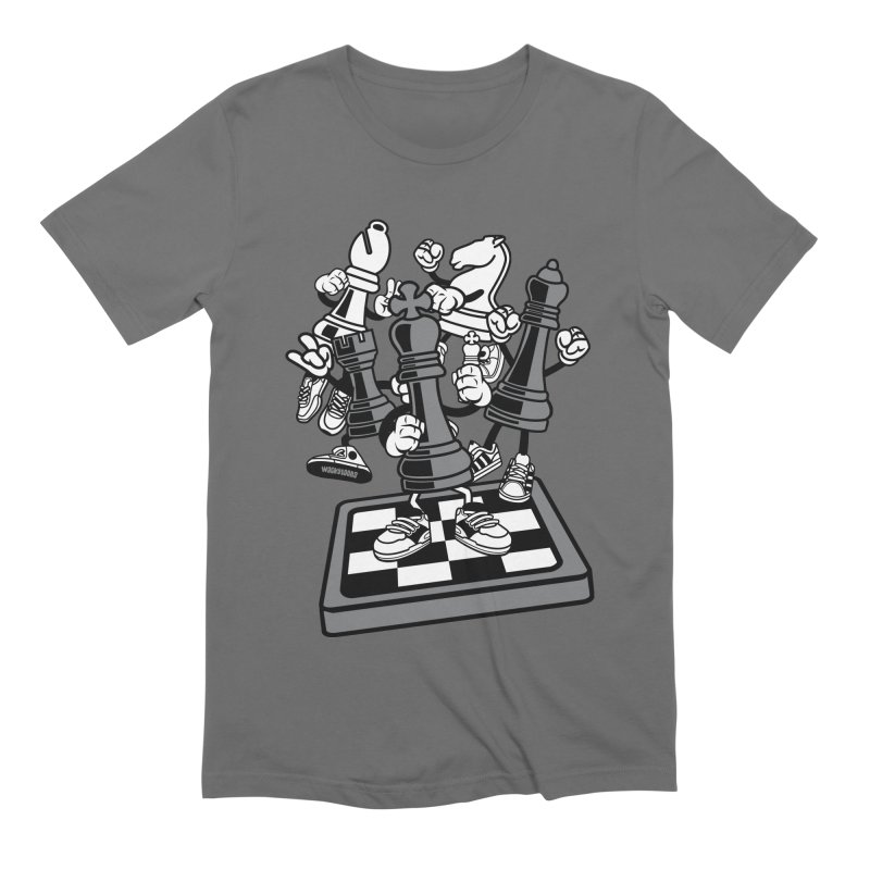 Game Of Chess Men's Extra Soft T-Shirt by WackyToonz
