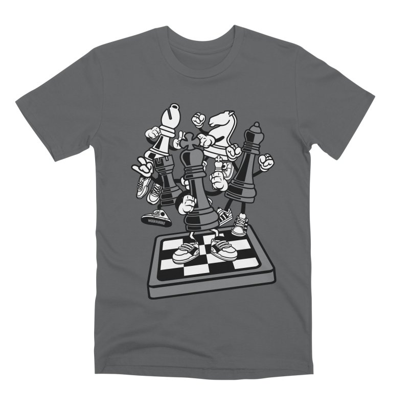 Game Of Chess Men's Premium T-Shirt by WackyToonz