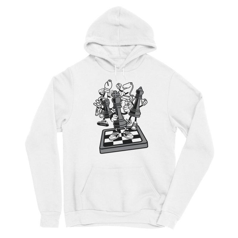 Game Of Chess Women's Sponge Fleece Pullover Hoody by WackyToonz