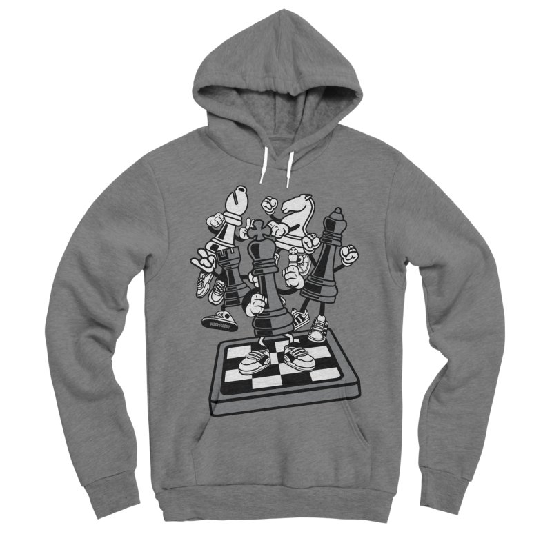 Game Of Chess Women's Sponge Fleece Pullover Hoody by WackyToonz
