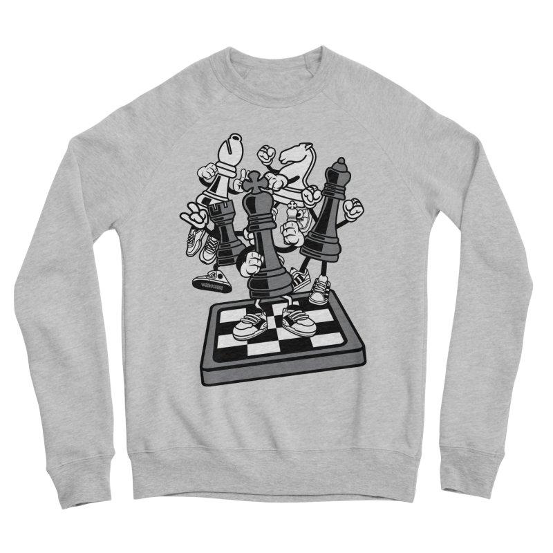 Game Of Chess Men's Sponge Fleece Sweatshirt by WackyToonz