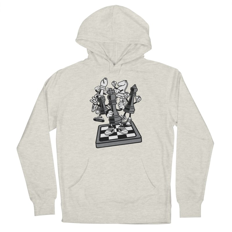 Game Of Chess Men's Pullover Hoody by WackyToonz